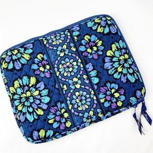 Vera Bradley Indigo Pop laptop sleeve